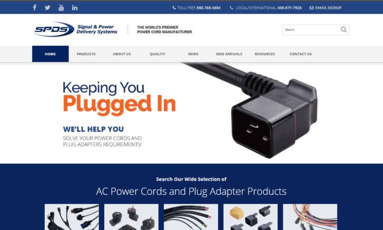 Signal and Power Delivery Systems, Inc.