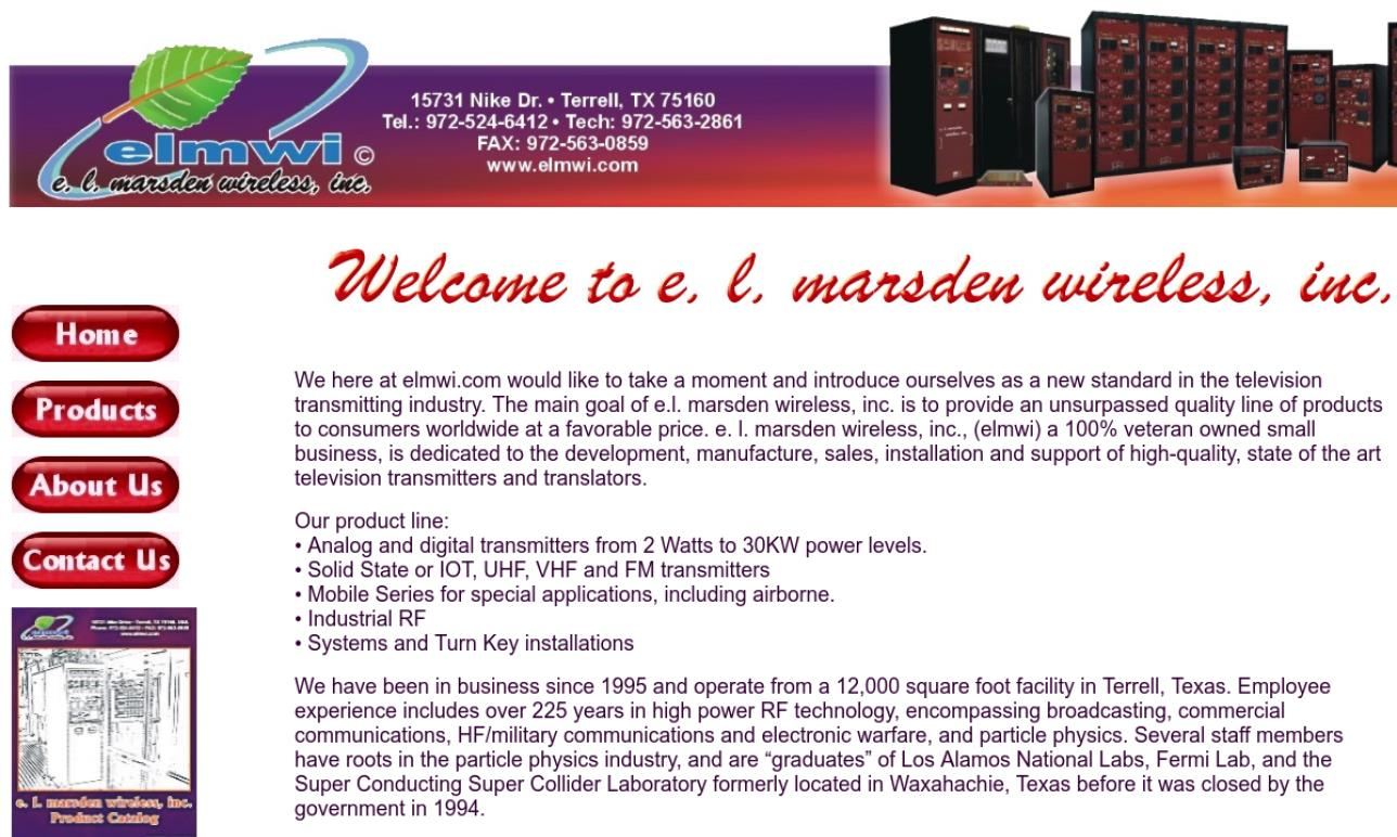 E.L. Marsden Wireless Inc.
