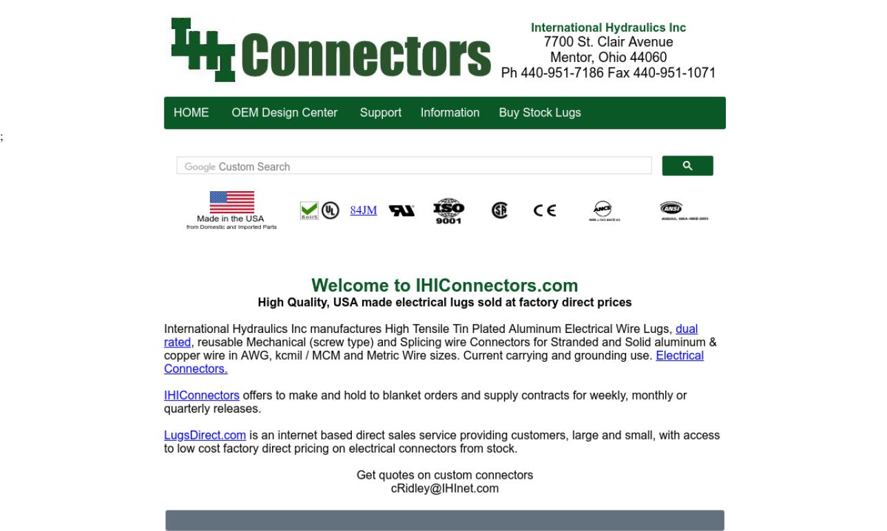 IHI Connectors