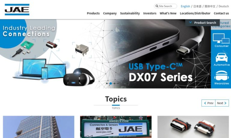 JAE Electronics Inc.