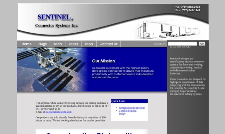 Sentinel Connector Systems Inc.